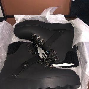 Coach Urban hiker rain boots